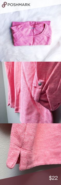 Plus // Bubblegum Pink Sweater Bubblegum pink sweater with buttoned-up sleeves and split hem. Perfect with jeans! In excellent pre-loved condition.  ✅Offers On Items Over $10 ✅Bundle & Save 🚫Trades 🚫Off-Posh 🚫Modeling  💞Shop with ease; I'm a Suggested User.💞 croft & barrow Sweaters