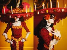 La Muerte from The Book of Life. Costume constructed by me. Facebook Page: Lady Ava Cosplay Instagram: ladyavacosplayConstruction time: 4 monthsMake-up By: LuckyGrimCosplayPhotos #1-2: JL7 Photography #3-5: Darkain Multimedia/Photo #6: LionBoogyThis project has been a huge on-going part of my life for the last four months. La Muerte was originally never on my radar to cosplay.  A student of mine showed me the design as a maybe to make for her since she loved the movie so much. When i saw...