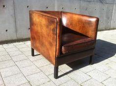 Leren club zeteltjes vintage meubilair pinterest - Vintage keukenmeubilair ...