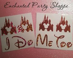 NEW Disney Inspired Castle I Do Shoe Stickers You Pick Color Sparkly Bridal Shoe Decals Wedding Photo Op Bridal Shoes, Wedding Shoes, Maxi Dress Wedding, Disney Inspired, Perfect Photo, Traditional Wedding, My Best Friend, Wedding Planning, Place Card Holders