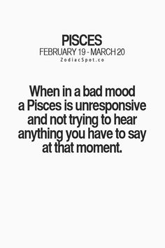 """zodiacspot: """"Fun zodiac facts here! Aquarius Pisces Cusp, Pisces Traits, Pisces Love, Zodiac Signs Pisces, Pisces Quotes, Zodiac Signs Astrology, Zodiac Sign Facts, Meaningful Quotes, Inspirational Quotes"""