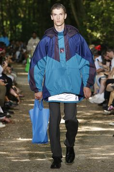 Balenciaga Spring 2018 Menswear Fashion Show Collection
