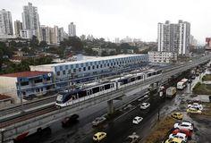 El metro de Panamá.