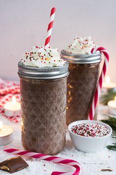 Weihnachtliche heiße Baileys Schokolade {Werbung} - Meine Küchenschlacht