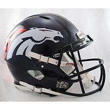 Riddell Denver Broncos Revolution Speed Helmets
