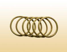 Pulseiras Finas – Kit 6 peças — Brasil Capim Dourado