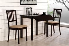 Mural Of Compact Dining E Arrangement With Drop Leaf Table For Small Es Kitchen