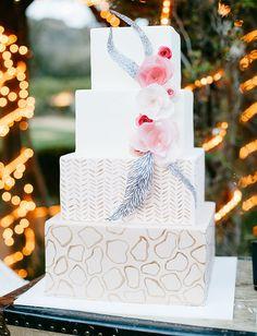 African Weddings || Elegant Safari Themed Cake
