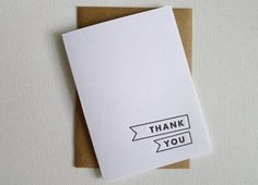 20 Beautiful & Whimsical Thank You Cards