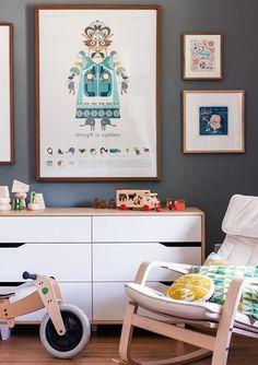 Casa en Melbourne; arte y madera para la habitación del bebé. - Decoración Bebés y Habitaciones de Bebé