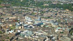 Edinburgh Exchange - a new financial district close to Edinburgh's West End