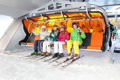 Komfortable Lifte - modernste Technik snow space Flachau  Modern lifts - snow space Flachau