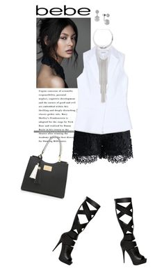 """""""Bebe Contest"""" by mk-style ❤ liked on Polyvore featuring Bebe, Chicwish and Vince Camuto"""