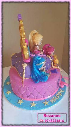 Shimmer and Shine Cake Shimmer And Shine Cake, Cake Pops, Madness, Birthday Cake, Cupcakes, Desserts, Tailgate Desserts, Cupcake Cakes, Deserts