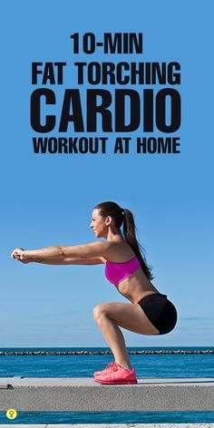 Do you want a toned and fit body with no extra fat bulging from here and there? Have you ever performed 10 minute cardio workout at home to ...