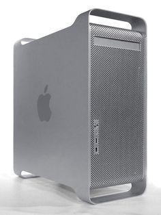 My current Mac, both at home and at work. I really, really need an Intel Mac. Apple Macintosh G5