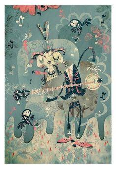 Spring Melody 01 print - by Alberto Cerriteño | $75