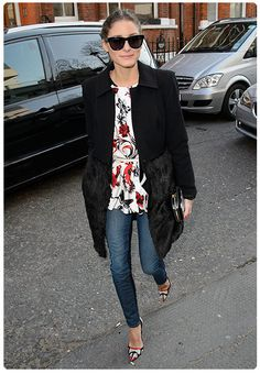 Olivia Palermo, con el mejor 'look' de 'street style' de febrero de 2013 #HOLAFashion #streetstyle #celebritystyle