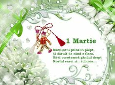 1 Martie calator va aduce-un mărtisor! (nu uita sa-ti alegi o zi babă)  ;) For all my Romanian followers! Beautiful Flowers Pictures, Flower Pictures, Emoji Love, Happy Halloween, Christmas Bulbs, Birthdays, Happy Birthday, March, Holiday Decor
