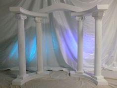 Greek ball Nail Desing e-art nail design budapest Grecian Wedding, Celtic Wedding, Greek Wedding, Greek Party Decorations, Wedding Decorations, Greece Party, Wedding Columns, Greek Decor, Toga Party