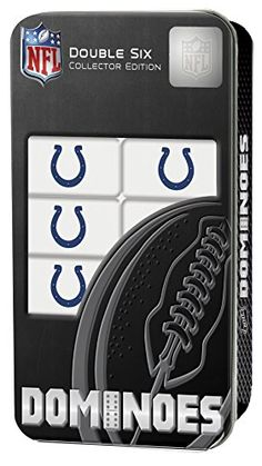 NFL Indianapolis Colts Masterpiece Dominoes * Click on the image for additional details.