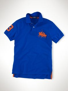 Polo Ralph Lauren Custom-Fit Dual Match Polo