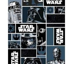 Tecido para Patchwork Star Wars