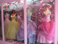 princess dresses! I want these to play dress up with my daughter!