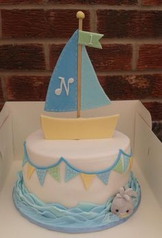Noah and the whale - Cake by Karen Flude