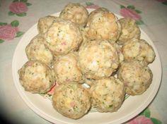 Semmelknodel ( bread dumplings)