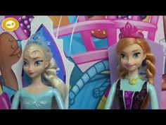 DOMINO Shopkins SNAKE! Elsa, Anna toddlers and friends want to Build a B...