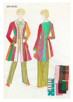 Sixth Doctor Costume Artwork