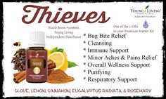 You Know I Love to Share: Young Living Essential Oil Thieves: The Story Behi...