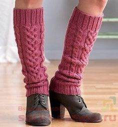 Ravelry: Climbing Vines Cabled Leg Warmers pattern by Debbie O'Neill Crochet Leg Warmers, Crochet Socks, Knitted Slippers, Knit Or Crochet, Knitting Socks, Knitting Ideas, Crochet Baby Beanie, Girl Beanie, Knitting Accessories