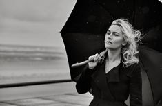 Pocket Everything - Kate Winslet in Vogue Italia Ph: Peter Lindbergh. High Fashion Photography, Glamour Photography, Winter Photography, Editorial Photography, Lifestyle Photography, Peter Lindbergh, Kate Winslet, Ideas For Instagram Photos, Gifts For Photographers