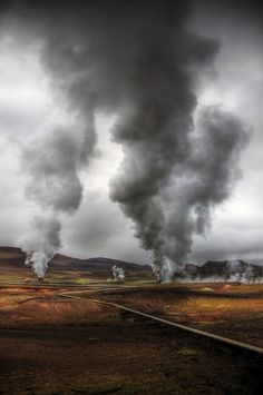 Myvatn, Iceland - Clouds in the Making