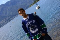 Twitter fan @wurgi shows his love for the Canucks in Switzerland! #IsItOctoberYet?