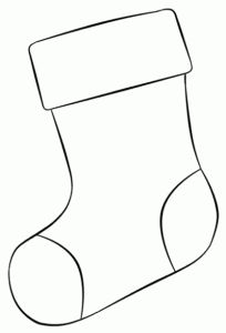 Stocking digi stamp - Baby Stuff and Crafts Christmas Stocking Template, Christmas Templates, Christmas Sewing, Christmas Printables, Preschool Christmas, Christmas Activities, Christmas Crafts For Kids, Holiday Crafts, Felt Christmas Ornaments