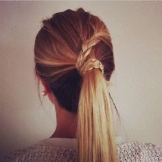 How to Chic: BRAID PONYTAIL INSPIRATION