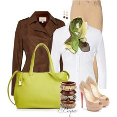 Bright Lime Bag