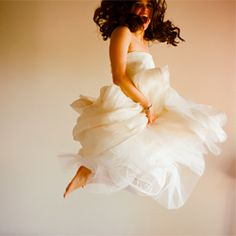 i aim to have a picture like this taken of me in my wedding dress.