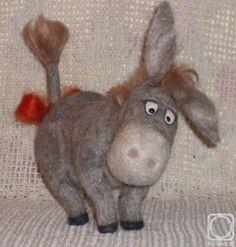 The burro. The artworks. Mehanoshina Cvetlana . Artists. Paintings, art gallery, russian art