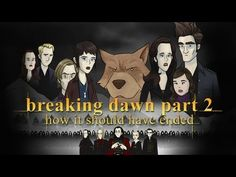 HISHE kicks off the new year with the conclusion to the epic franchise in: How Twilight Breaking Dawn Should Have Ended. Whether you're on Team Edward or Tea. Twilight Stars, Twilight Breaking Dawn, Breaking Dawn Part 2, Twilight Movie, Twilight Videos, Secret Agent Party, Bad Humor, Twitter Backgrounds, Intense Love