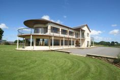This luxury home in Anglesey has a games room, swimming pool and fantastic mountain views.