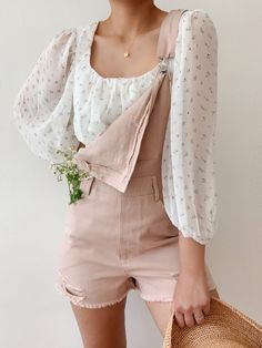Mode Outfits, Girly Outfits, Pretty Outfits, Casual Outfits, Fashion Outfits, Floral Outfits, Fashion Moda, Look Fashion, Womens Fashion