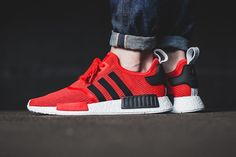An On-Feet Look at the adidas NMD R1 Core Red/Black