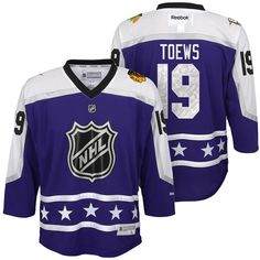Youth Jonathan Toews  19 Purple NHL 2017 All Star Premier Jersey Jonathan  Toews 05ae73358