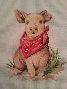 Great cross-stitch idea - what to do with leftover thread