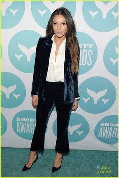 8d599d65ce6 Shay Mitchell at Shorty Awards 2017 Star Fashion