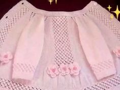 Ideas Knitting Stitches Lace Products For 2019 Baby Cardigan, Cardigan Bebe, Baby Pullover, Shrug Knitting Pattern, Vest Pattern, Sweater Knitting Patterns, Knitting Stitches, Crochet Baby Boots, Knitted Baby Clothes
